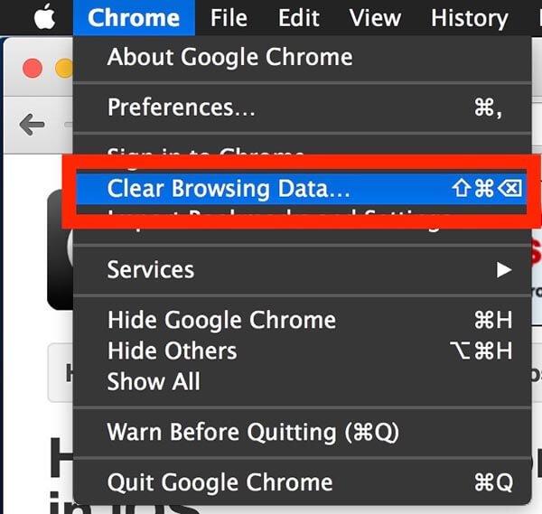 حذف سابقه مرور Chrome | رایانه کمک