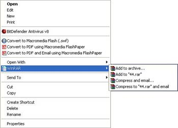 آموزش کار کردن با نرم افزار winrar