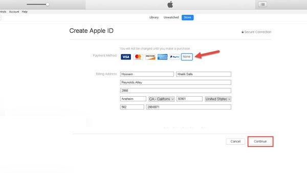 راهنمای ساخت Apple ID | خدمات کامپیوتری