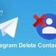 Telegram-Delete-Contacts-rayaneh komak