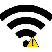 علامت تعجب روی وای فای   رایانه کمک انلاین