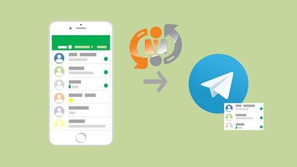 مخاطبین تلگرام در اندروید|رایانه کمک تهران
