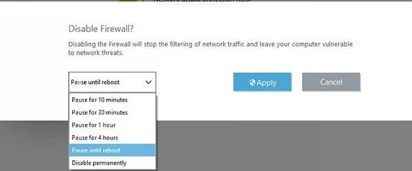 تنظیمات فایروال آنتی ویروس Eset | رایانه کمک
