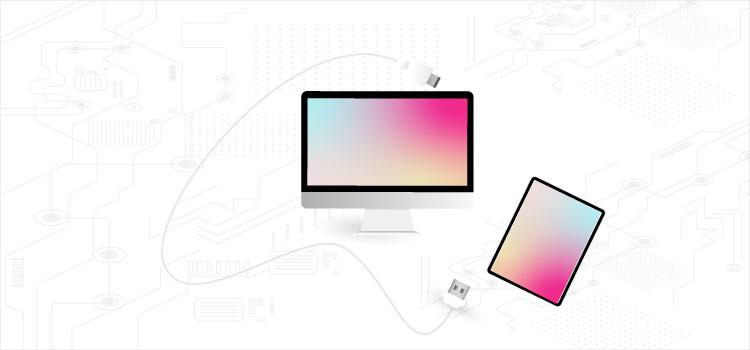 اتصال تبلت با کابل USB به کامپیوتر | رایانه کمک
