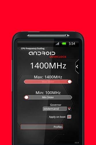 استفاده از نرم افزار Android Overclock | رایانه کمک