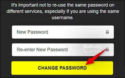 بازیابی رمز عبور اسنپ چت با استفاده از وبسایت-رایانه کمک