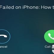 حل ارور call failed در آیفون|رایانه کمک