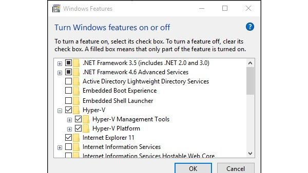 آموزش نصب Hyper-V در ویندوز 10 | پشتیبانی آنلاین کامپیوتری