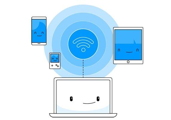 اتصال گوشی با کامپیوتر با وای فای | رایانه کمک تلفنی