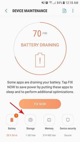 بخش device maintenance - storage | رایانه کمک تلفنی