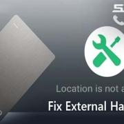 رفع اخطار Location is not available|رایانه کمک