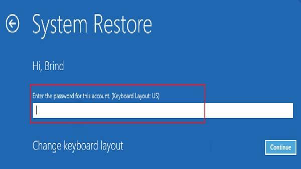 سیستم ریستور | رایانه کمک پشتیبانی نرم افزاری