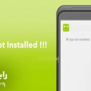 رفع مشکل app not installed در اندروید|رایانه کمک