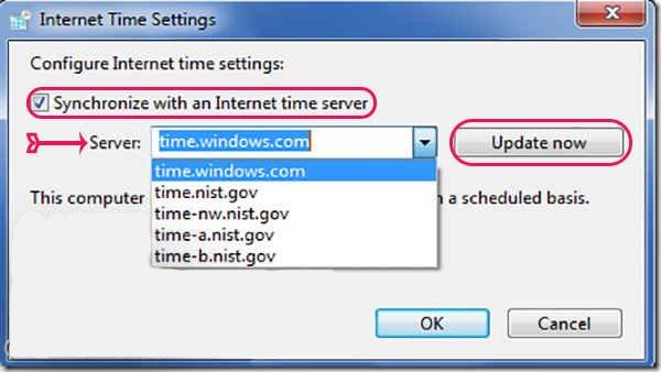 علت نمایش ارور YOUR CLOCK IS AHEAD| کمک کامپیوتر تلفنی