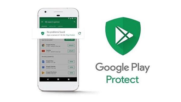برنامه گوگل پلی پروتکت| پشتیبانی آنلاین کامپیوتری