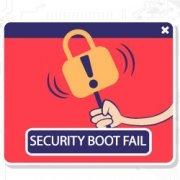 مشکل security boot fail | رایانه کمک