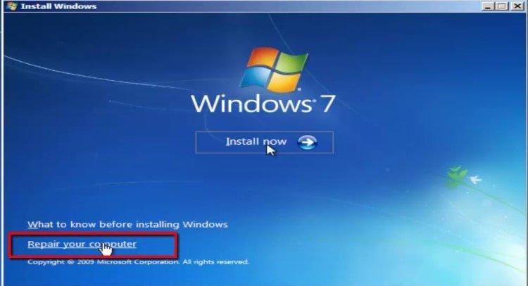 رفع مشکل No Bootable Device در ویندوز   رایانه کمک تلفنی