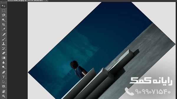 چرخاندن عکس در فتوشاپ|رایانه کمک