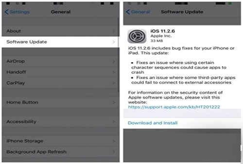 دانلود مجدد آپدیت iOS | رایانه کمک