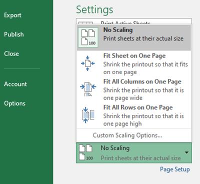 آموزش کامل تنظیمات Print گرفتن در اکسل|رایانه_کمک