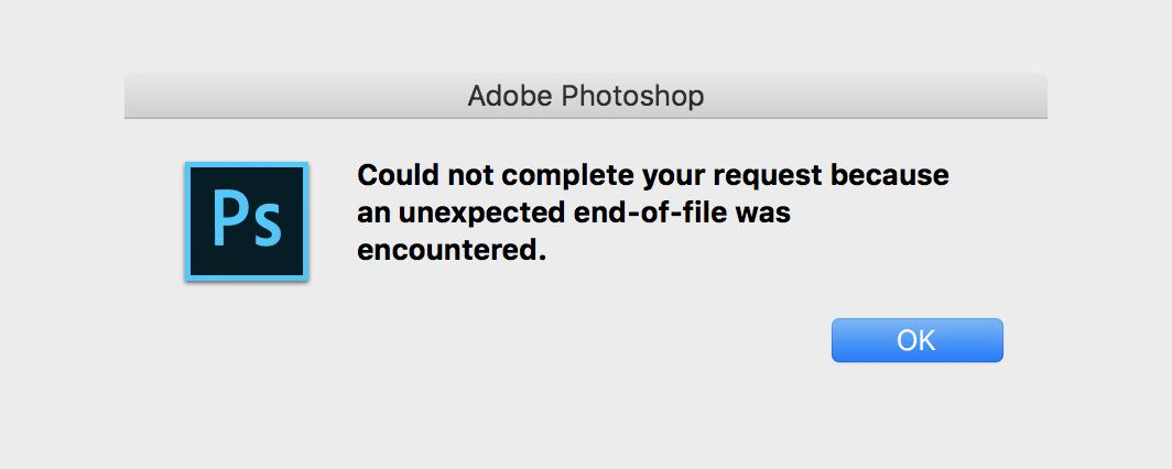 مشکل باز نشدن عکس و فایل در فتوشاپ| تعمیرات سخت افزار تلفنی