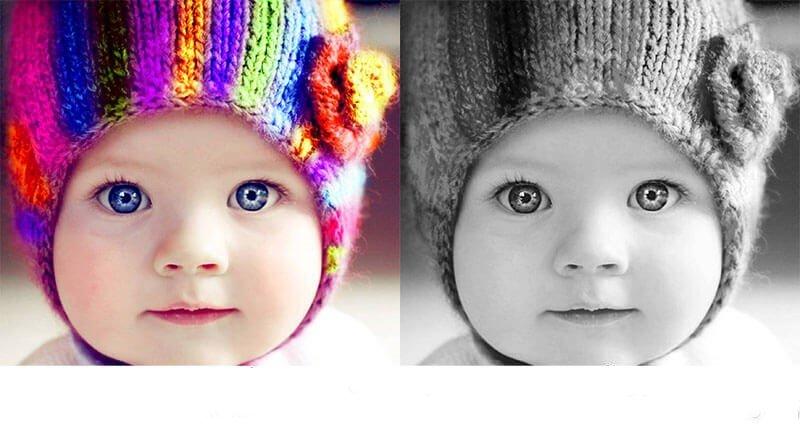 سیاه سفید کردن عکس رنگی درفتوشاپ | رایانه کمک 9099071540