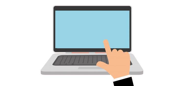 علت کار نکردن صفحه لمسی در لپ تاپ | رایانه کمک