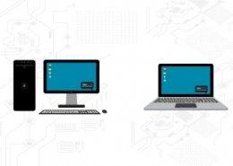 مقایسه قدرت لپ تاپ و کامپیوتر | پشتیبان کامپیوتر رایانه کمک