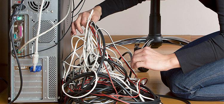 ترفند ارزان برای مرتب و دسته بندی سیم های داخل کیس   تعمیرات کامپیوتر و لپتاپ در محل