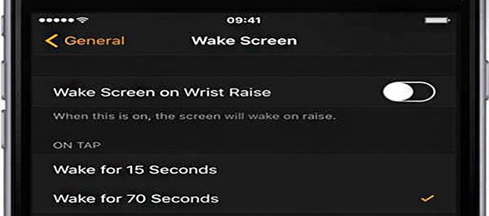 آموزش بیدار یا روشن نگه داشتن صفحه نمایش ساعت هوشمند اپل   کمک رایانه