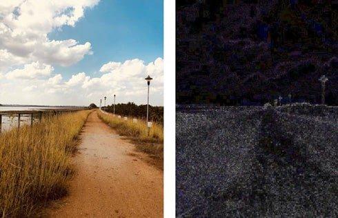 سایه ها در عکس های دست کاری شده| خدمات کامپیوتری آنلاین